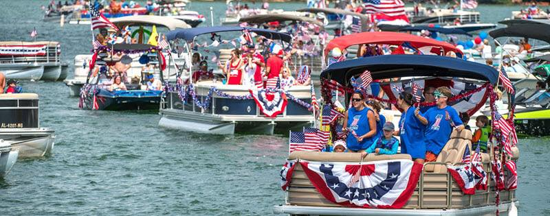 4th of July Boat Parade Peoria IL
